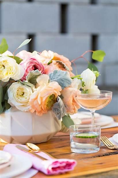 Bridal Shower Centerpieces Centerpiece Flower Bride Close