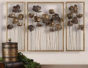 Decorating large metal letters for wall decor