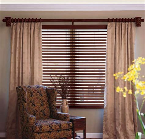 give your home a new look with wooden curtain rods