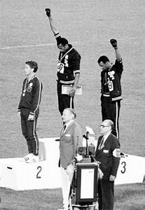 US Slave: 1968: Black Athletes Make Silent Protest