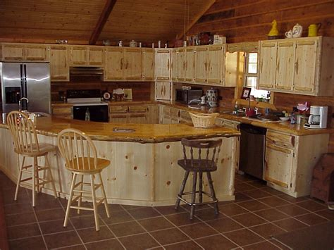 glass tile backsplash ideas log cabin kitchens with modern and rustic style