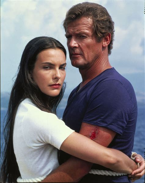 roger moore griffiths and armour melina havelock carole bouquet club james bond france