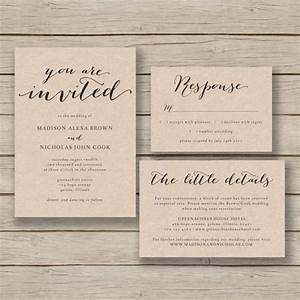 printable wedding invitation template rustic invitation With free printable rustic wedding invitations templates downloads