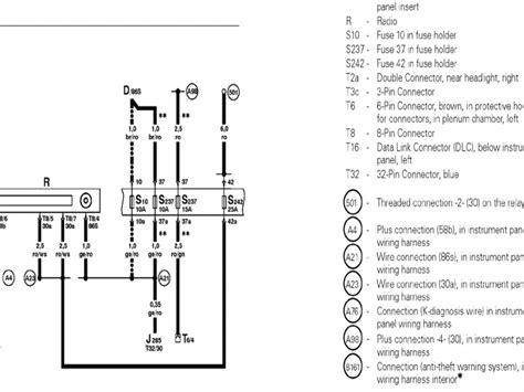 Beetle Radio Wiring Diagram Forums
