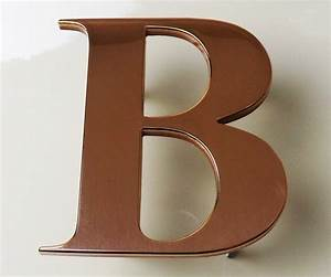 copper letters metal letters With copper metal letters