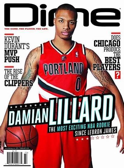 Lillard Damian Dime Magazine Basketball Ballislife Nba
