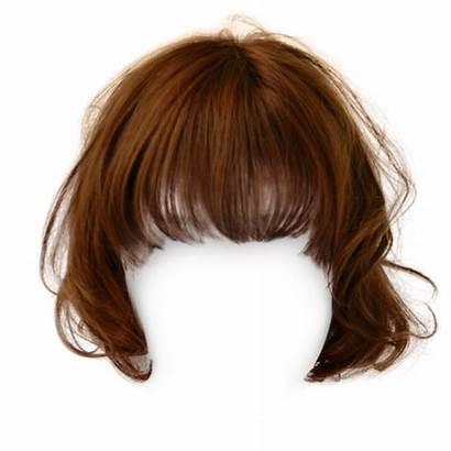 Wig Clipart Transparent Short Hairstyle Haar Zwart