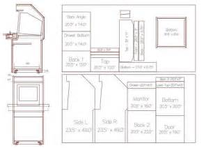 cabinet plans arcade pdf plans chair plan autocad