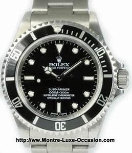 Montre Rolex Occasion Particulier : rolex submariner 14060 occasion montre luxe ~ Melissatoandfro.com Idées de Décoration