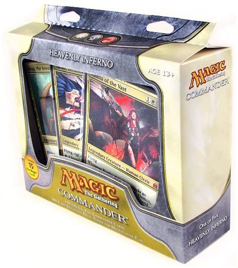 Mtg Commander Decks 2011 by Magic The Gathering Commander Deck Box 2011 Da Card World