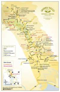 Sonoma Valley Wineries Map