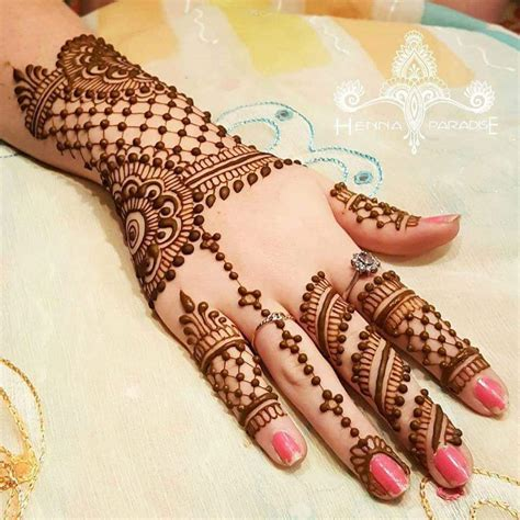 Latest Arabic Mehndi Designs Collection For Back Hand 2017