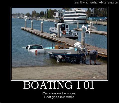 Boat Crash Meme by Boating 101 Demotivational Poster