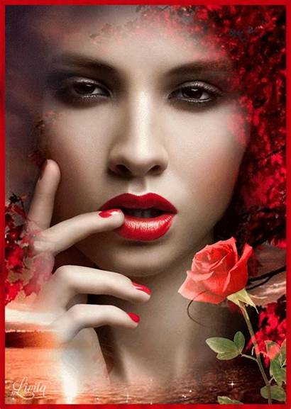 Makeup Lipstick Maquillaje Ojeras Disimular Gifs Lips