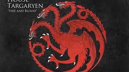 Targaryen Thrones Got Sigil Sigils Houses Dragons