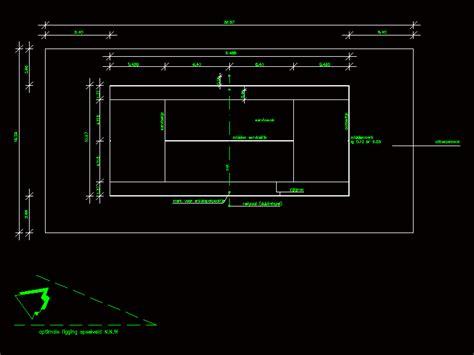 tennis court  dwg detail  autocad designs cad
