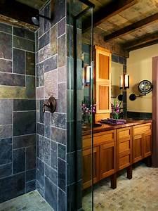 35, Amazing, Raw, Stone, Bathroom, Design, Ideas