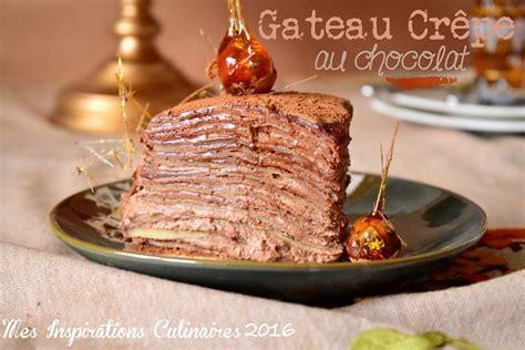cuisine recette dessert gâteau de crêpes au chocolat facile le cuisine de samar