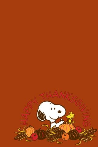 Happy Thanksgiving Wallpaper Iphone by Snoopy Happy Thanksgiving Iphone Wallpaper And Ipod Touch