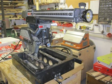craftsman radial arm  woodworking talk woodworkers