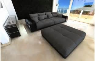 rattan sofa bigsofa miami mit einer edlen led beleuchtung und viel platz