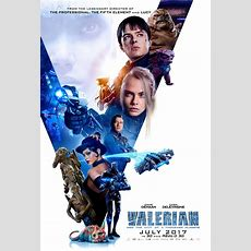 8 New Character Posters For The Scifi Epic Valerian Show New Robot And Alien Characters