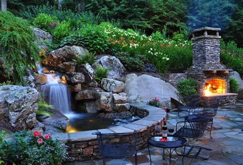 Backyard Waterfall Design Ideas