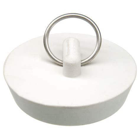 Rubber Kitchen Sink Stopper by 1 3 4 In Rubber Drain Stopper In White 1 Per Card Danco