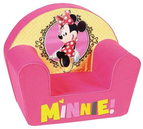 chambre de minnie disney fauteuil minnie shopping doudouplanet