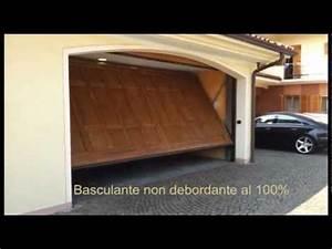 dma porte basculanti di sicurezza non debordanti youtube With motorisation porte garage basculante