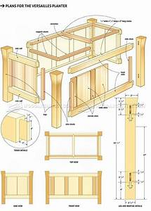 Versailles Planter Plans • WoodArchivist