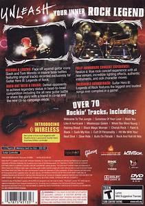 Guitar Hero Iii Legends Of Rock Box Shot For Playstation