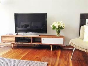 Tele 190 Cm : photos meuble industriel et meuble scandinave en situation chez les clients ~ Teatrodelosmanantiales.com Idées de Décoration