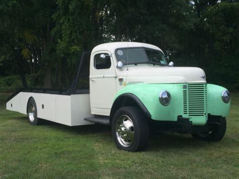 1948 International Car Hauler Ramp Truck Tow Truck For