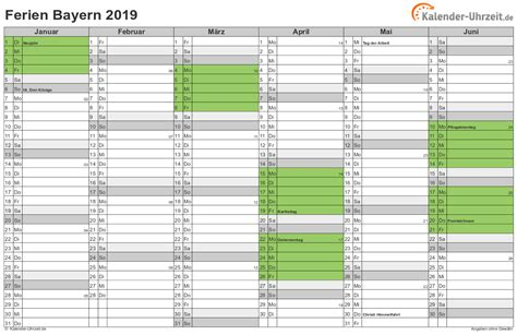 bayern sommerferien 2019 ferien bayern 2019 ferienkalender zum ausdrucken