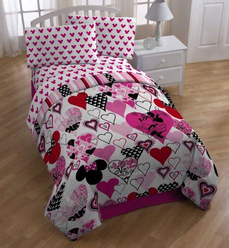 size minnie mouse bedding sets