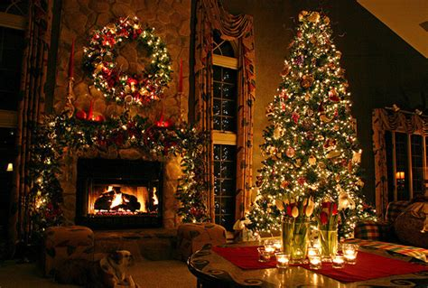 awesome christmas decorations awesome and beautiful tree with fireplace ornaments