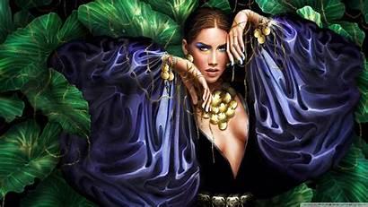 Fantasy Woman Wallpapers Desktop 3d 4k Ultra