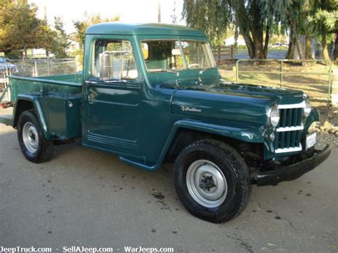 willys jeep pickup for sale 1953 willys pickup information and photos momentcar