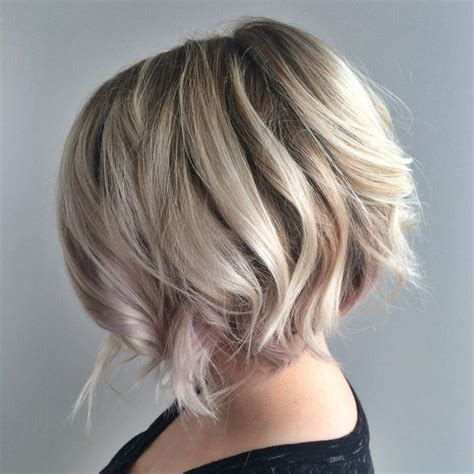 blonde textured bob  undercut platinum blonde blonde