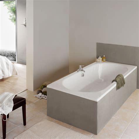 baignoire rectangulaire double dos la collection