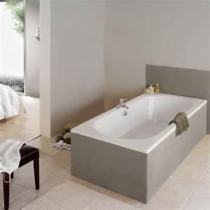 Baignoire Pour 2 : baignoire rectangulaire duo la collection allibert belgique ~ Edinachiropracticcenter.com Idées de Décoration