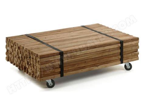 Table Basse Design Bois Naturel Teck Lounge Ezooqcom