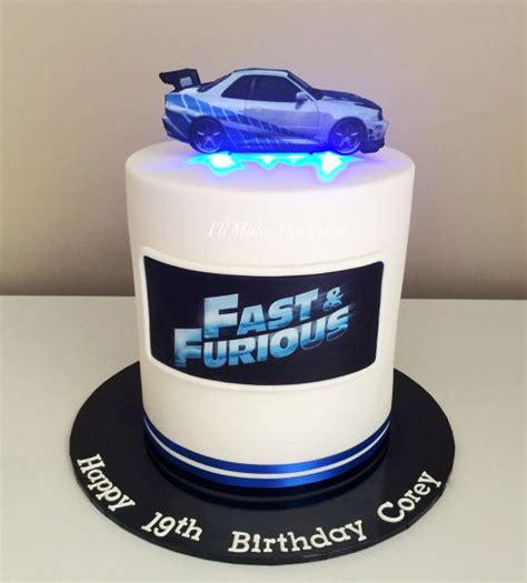 fast  furious cake cake  illmakethecake cakesdecor