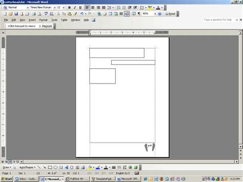 create  custom letterhead template  word techrepublic