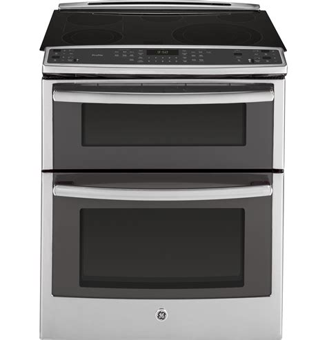 ge profile ge profile series 30 quot slide in front oven