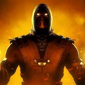 Wallpaper Scorpion, Mortal Kombat, HD, Creative Graphics