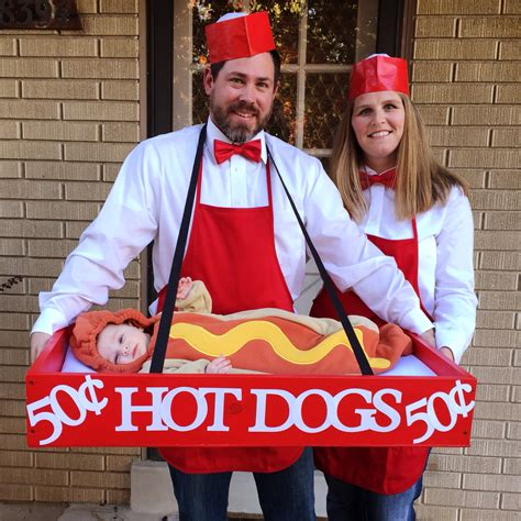 baby hotdog costume family halloween costumes family