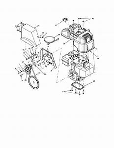 Troy Bilt Snowblower Parts Diagram