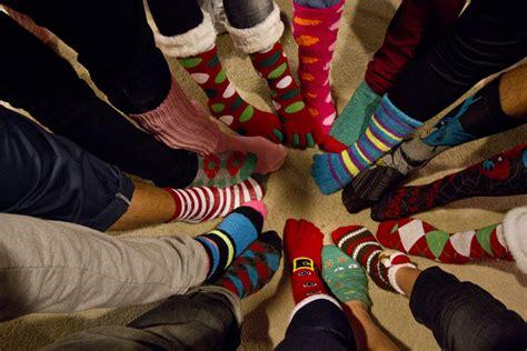 sock gift exchange sock exchange every detail